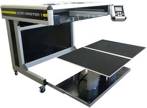 SMA ScanMaster 1 Book Scanner with Draw Open