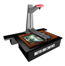 0 METIS DRS model 2000 DCS 2 x A 0+ Extra Large Format Drawing - Map & Plan Document plus Art Material SCANNER