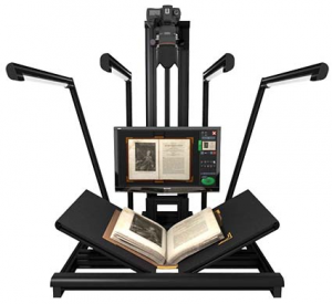 METIS EDS GAMMA A 1 to A 0 Flat Bed plus Book Planetary SCANNER
