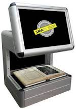The DME SMA On-Demand – Walk-Up – SMART SHOT – Kiosk Style Book & Document Scanner