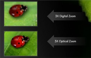 3 X Digital Zoom vs 3 X Optical Zoom