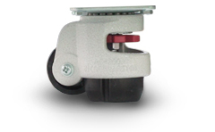 Convenient casters for Easy of Movement and Locking