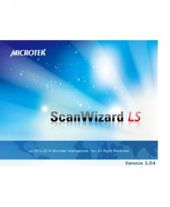 easy-to-use ScanWizard LS software