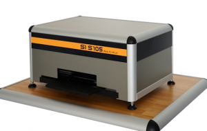 SMA model MFS 1 Microfiche Scanner Side View