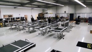 2019-11 1. SMA Production Facility Germany showing VERSASCANS in production